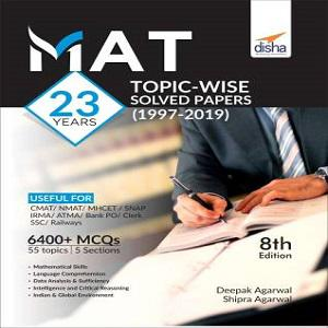 MAT 23 years Topic-wise Solved Papers