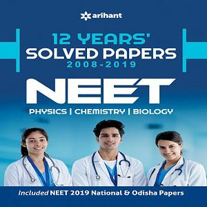 Solved Papers 2008-2019 NEET